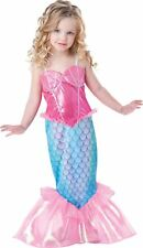 InCharacter Categories Baby Girls Mermaid Costume Pink/turquoise 3t