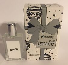 Pure Grace ~  Philosophy Fragrance EDT .33 oz. splash ~  BRAND NEW IN THE BOX