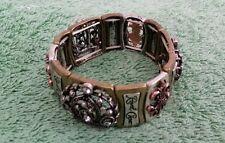 Royal Crown Bracelet Custume Jewelry Metal Elastic Stretch Unique Interesting