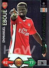 Emmanuel Eboue PANINI Champions League 2009/2010 09 10 Update Fan`s Favourite