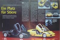 MODELLBAU BBURAGO und Autoart LAMBORGHINI MURCIELAGO.....ein Modellbericht