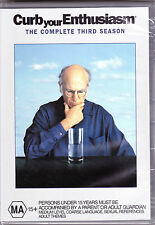 Curb Your Enthusiasm - The Complete Third Season - DVD (Brand New Sealed)