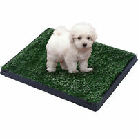 PawHut Dog Toilet Pet Puppy Mat Cat Tray Large Portable Litter Restroom Placemat