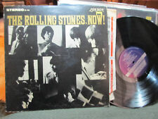 THE ROLLING STONES NOW! 1964 stereo ps420 london blue label w/color inner sleeve