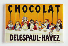 Chocolate Syrup FRIDGE MAGNET (2 x 3 inches) poster chocolat european