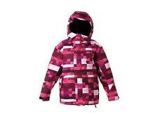 DC Shoes Girls Farah Snowboard Jacket (L) Crazy Pink Plaid
