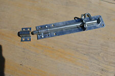"pad bolt 6"" (150mm) heavy duty bzp for stable, gates and doors"