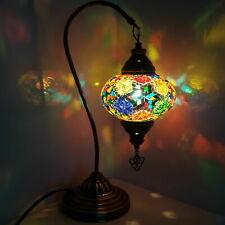 Turkish Table Lampe Marocain Coloré Verre Mosaïque Lampe Lumière Ce Testée
