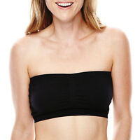 AMBRIELLE M L Choice Natural Coffee Padded Strapless Bra NWT Wire Free