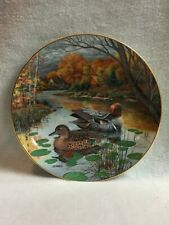 Knowles Living with Nature - The 'Green-Winged Teal Duck' Collector Plate