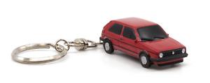 Porte Clefs Volkswagen Golf 2 GTI Red environ 7cm Z Models Livraison Domicile