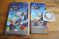 Jeu Phinéas et Ferb voyage dans la 2e dimension pour PSP COMPLET version FR