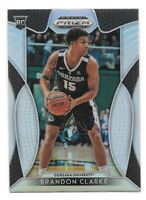 Brandon Clarke Rookie 2019-20 Prizm Draft Picks SILVER #86 Memphis Grizzlies RC