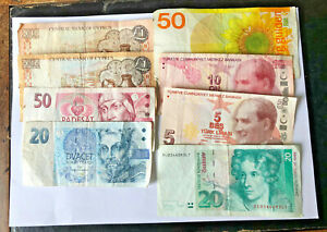 ASSORTMENT OF FOREIGN BANK NOTE