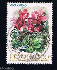 ITALIA 1 FRANCOBOLLO FIORI D'ITALIA CICLAMINO 1982 usato