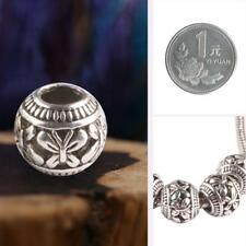 NEW Unisex Tibetan silver Pendant spacer bead Charm fit European Bracelet DIY GA