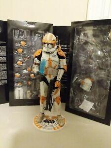 "Commander Cody Sideshow 1/6 12"" Figure Complete Star Wars Exclusive"