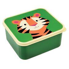 dotcomgiftshop COLOURFUL CREATURES DESIGN LUNCH BOX - TIGER