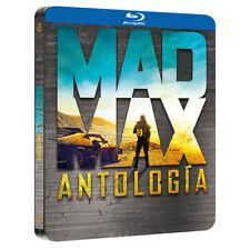 PELICULA BLURAY PACK SAGA MAD MAX ANTOLOGIA EDICION METALICA STEELBOOK PRECINTAD
