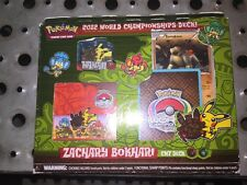 Pokemon 2012 World Championship Deck Zachary Bokhari SELAED CMT