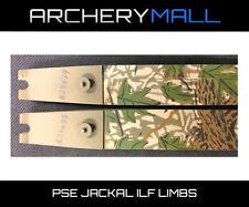 PSE Jackal ILF Recurve Hunting Limbs - 55# or 60#  Medium Size Fits Hoyt risers