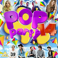 Various Artists : Pop Party 14 CD Album with DVD 2 discs (2015) ***NEW***