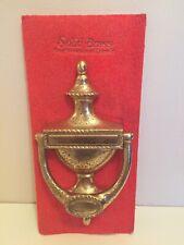 Vintage Brass Door Knocker New Old Stock