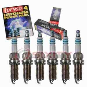 6 pc Denso Iridium Power Spark Plugs for 2004-2008 Infiniti FX35 3.5L V6 ad