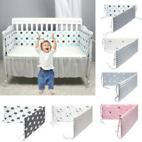 Newborn Baby Bed Bumper Crib Around Cushion Cot Protector Pillows Room Decor