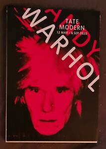 Andy Warhol 2020 Tate Modern Exhibition Postcard Book*New*