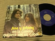 "ANA Y JOHNNY - EN LA CUNETA 7"" SINGLE EUROMUSIC 77 - PSYCH ROCK"