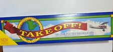 Take Off! Game Teaches Geography Homeschool Educational 1994 World Map Complete