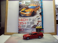FORD MUSTANG BOSS 302 DESIGN MASTERS SKETCHBOOK & PENCILS + 1:43 GT BY DAGOSTINI