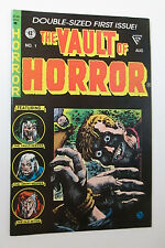 EC Comics THE VAULT OF HORROR Double-Sized First Issue Aug Reprint