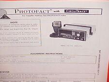1976 RAY JEFFERSON CB RADIO SERVICE SHOP MANUAL MODEL CB-711 (SATURN)