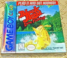 Black Bass Lure Fishing NES Nintendo Game Boy GAMEBOY Color SYSTEM NEW Sealed