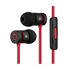 Original Beats By Dr. Dre urBeats inEar Headphones Earphones Earbuds Black/Red