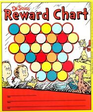 Dr Seuss Reward Chart w 33 Stickers What Pet Should I Get Reading Incentive Fun!