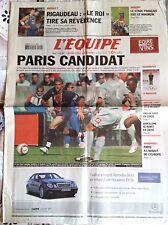 L'Equipe Journal 1/10/2005; Rigaudeau tire sa révérence/ Saint-Etienne