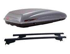 BARRE CLOP + BOX DA TETTO KRONO 480 G3 FORD C-MAX DAL 2010 CON RAILING