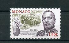 Monaco 2016 estampillada sin montar o nunca montada excavaciones Observatorio Cueva en los jardines exóticos 1v conjunto de sellos