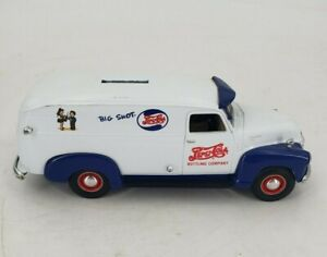 Pepsi Cola Big Shot 1949 Chevrolet Bottling Company Coin Bank