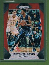 17-18 Panini Prizm Red Prizm Deyonta Davis #208 Memphis Grizzlies