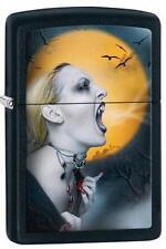 Zippo 28435 screaming vampiress black matte Lighter