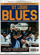 Sport insider 2019 Stanley Cup Champions St. Louis Blues Magazine Play Gloria!