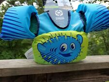 NEW Speedo Splash Jammer Puffer Fish • Kids Life Jacket Swimming Vest