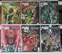 Planet of the Apes Green Lantern 1 2 3 4 5 6 Complete Set Series Run Lot 1-6