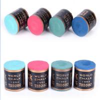 Mini Billiard Chalks Pool Cue Stick Chalk Snooker Billiard Accessories 4 Color