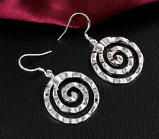 Wholesale New Fashion 925 Sterling Silver plated Stylish Lady Hoop Earring