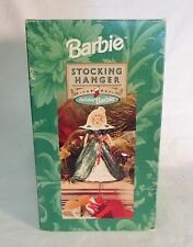 Vintage Hallmark Holiday Noël Barbie Chaussette Suspension 1996